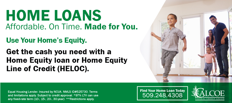 Home Loans at CALCOE Use Your Home's Equity